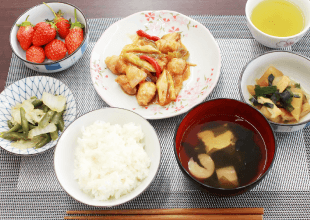 医療法人佳和会 | サービス付き高齢者向け住宅わきあいあいの栄養管理の摂れた美味しい食事