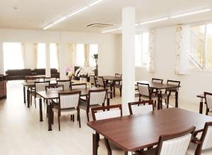 医療法人佳和会 | サービス付き高齢者向け住宅わきあいあいの共有スペース